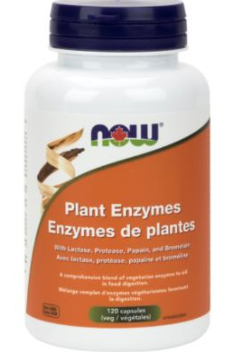 Now: Plant Enzymes (120 Vegetable Capsules)