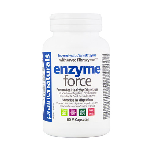 Prairie Naturals: Enzyme Force (60 VCaps)