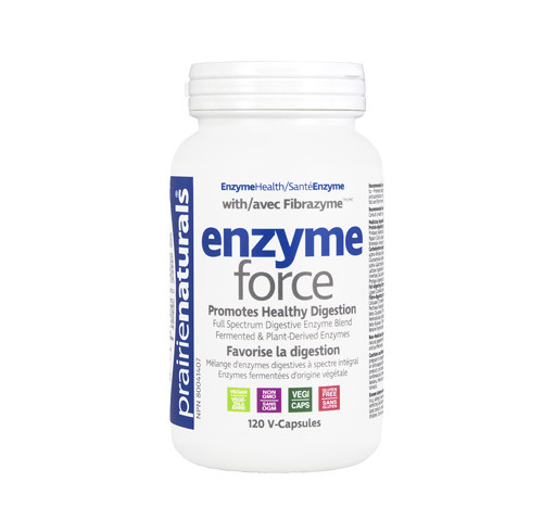 Prairie Naturals: Enzyme Force (120 VegiCaps)