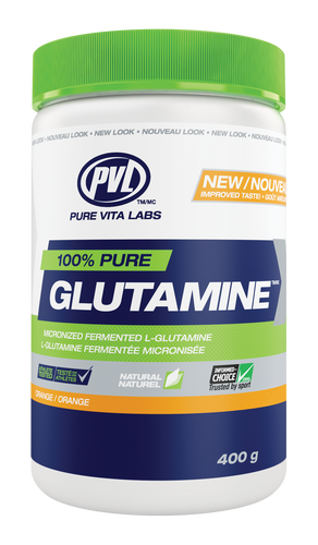 PVL 100% Pure Glutamine - Orange (400g)