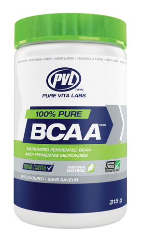 PVL 100% Instant BCAA - Unflavoured (315g)