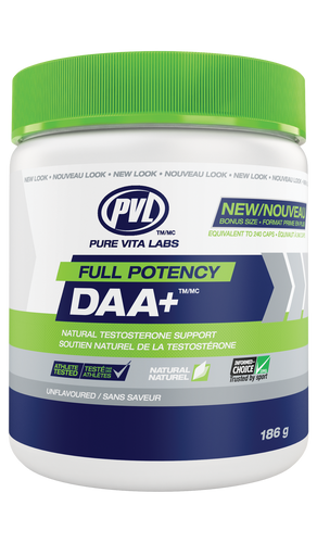 PVL Full Potency DAA+ - Unflavoured (186g)