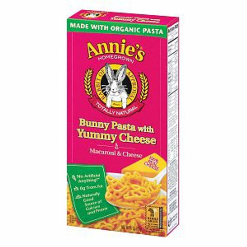 Buy Bunny Pasta with Yummy Cheese from Annie's Homegrown (170g)