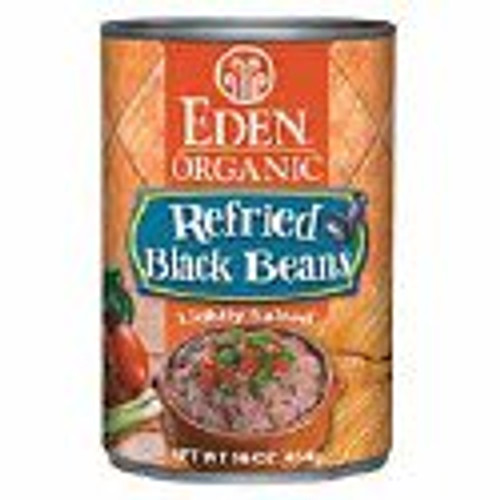 Eden: Organic Refried Black Beans (398ml)