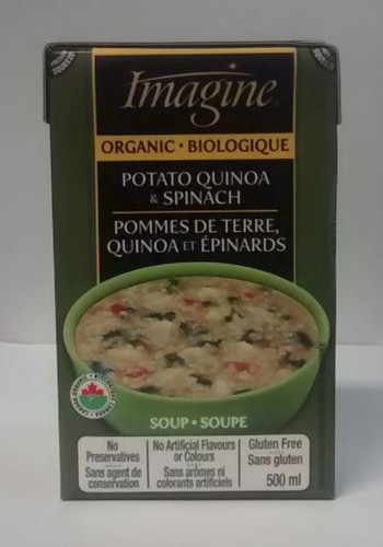 Imagine: Organic Potato Quinoa & Spinach Soup (500ml)