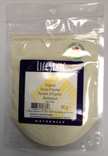 Lifestyle Markets: Organic Onion Powder (50g)