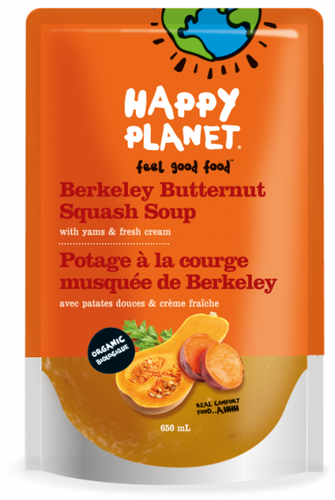 Buy Berkeley Butternut Squash Soup from Happy Planet (650ml)