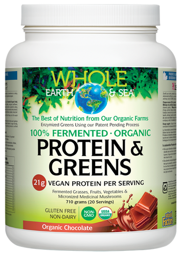 Whole Earth & Sea: Fermented Protein & Greens - Chocolate (660g)