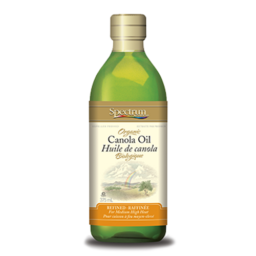 Spectrum: Organic Canola Oil (375ml)