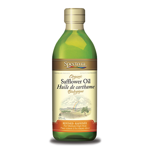 Spectrum: High Oleic Organic Safflower Oil (375ml)