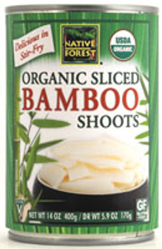 Native Forest: Organic Sliced Bamboo Shoots (170g)