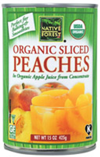 Native Forest: Organic Sliced Peaches (398ml)