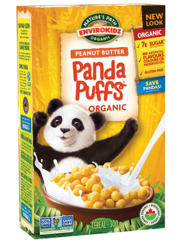 Nature's Path EnviroKidz: Peanut Butter Panda Puffs (300g)