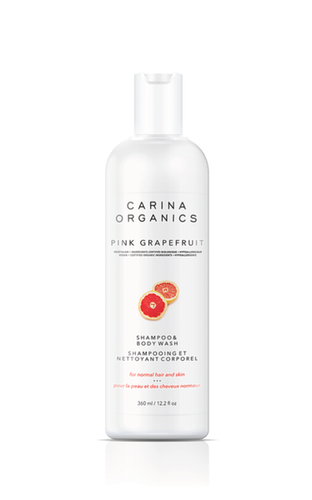 Carina Organics: Shampoo & Body Wash - Pink Grapefruit (360ml)