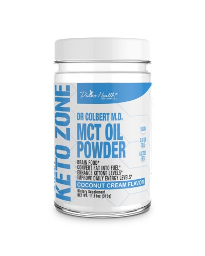 Divine Health: MCT Oil Powder (300g)