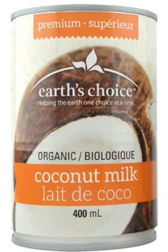 Earth's Choice: Organic Coconut Milk (400ml)