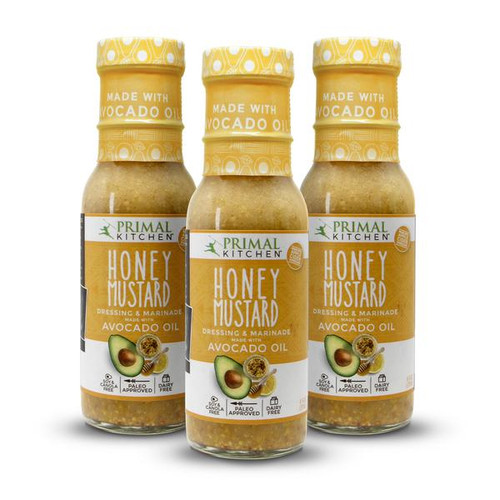 Primal Kitchen: Dressing & Marinade - Honey Mustard (237ml)