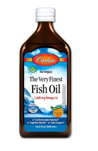 Carlson: The Very Finest Fish Oil - Orange (500ml)