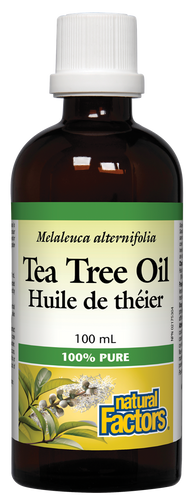 Natural Factors: Tea Tree Oil (100ml)