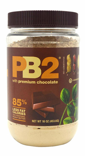 PB2: Powdered Peanut Butter with Chocolate (453.6g)