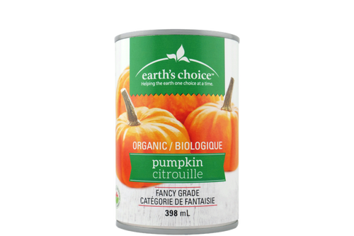 Earth's Choice: Organic Pumpkin Puree (398mL)