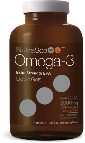 Nature's Way: Nutrasea Omega-3 Extra Strength (60 SGels)
