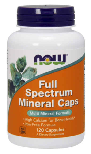 NOW: Full Spectrum Minerals (120cap)