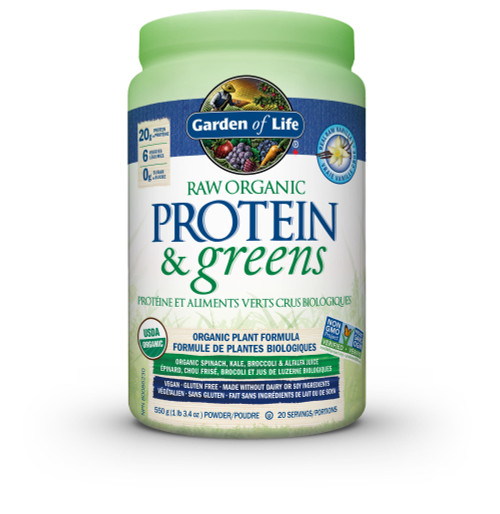 Garden of Life: Raw Org Protein & Greens Vanilla