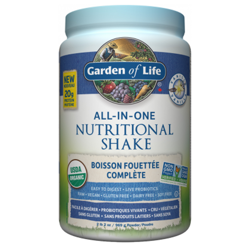 Garden of Life: All-In-One Shake Vanilla (969g)