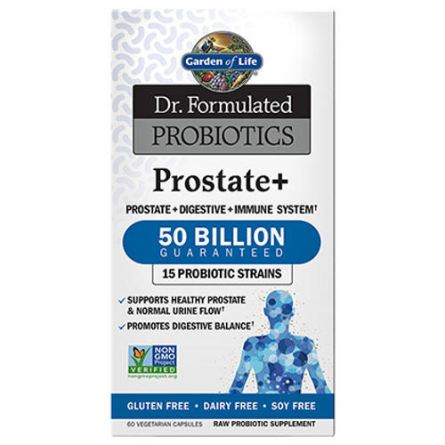 Dr. Formulated Probiotics Prostate+ 50 Billion (60vcap)