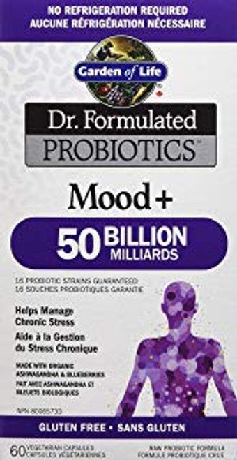 Dr. Formulated Probiotics Mood+ 50 Billion (60vcaps)