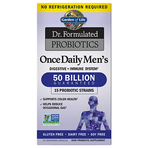Dr. Formulated Probiotics Once Daily Men's 50 Billion (30vcaps)