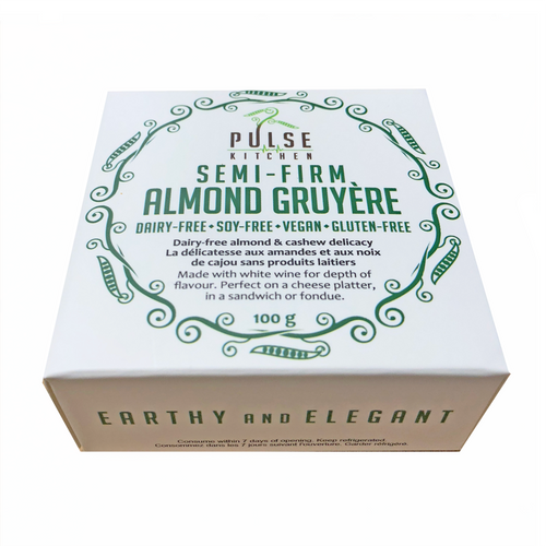 Pulse Kitchen: Semi-Firm Almond Gruyere (100g)