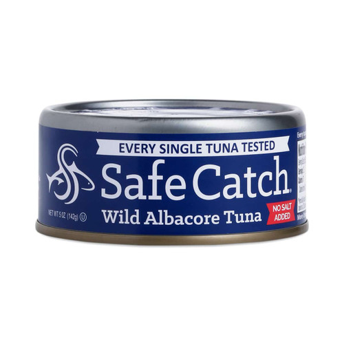 Safe Catch: Low Mercury Wild Albacore Tuna No Salt Added (142g)