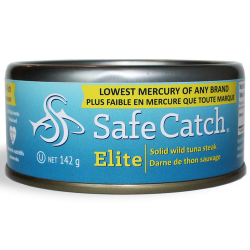 Safe Catch: Elite Low Mercury Wild Skipjack Tuna Steak(142g)