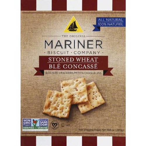 Mariner Biscuit Company: Stoned Wheat Bite Size Crackers (249g)
