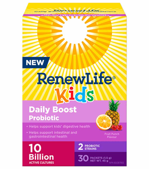 Renew Life: Kids Daily Boost Probiotic (30 packets)
