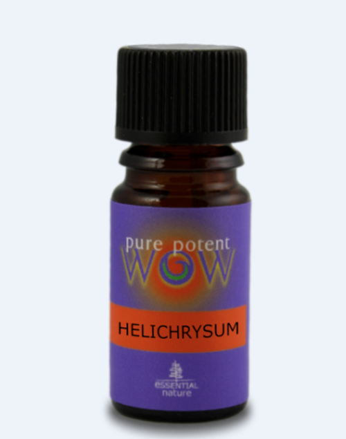 Pure Potent WOW: Helichrysum 10% in Organic Jojoba Oil (Certified Organic) (5ml)