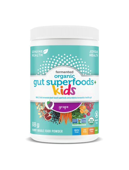 Genuine Health: Organic Gut Superfoods+ Kids (88g)