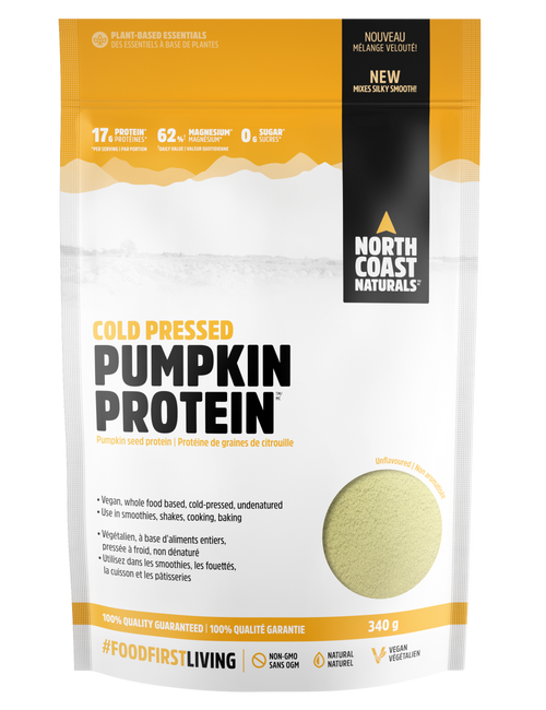 North Coast Naturals: Pumpkin Protein (340g)