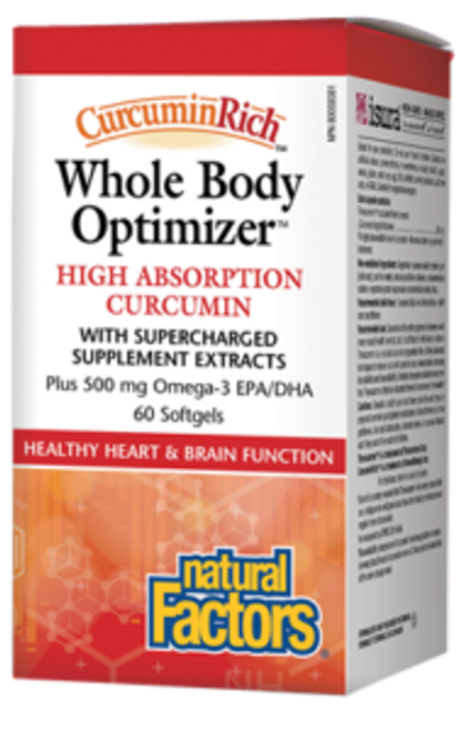 Natural Factors: Whole Body Optimizer (60 Softgels)