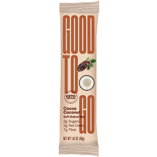 Good To Go: Keto Bar - Cocoa Coconut