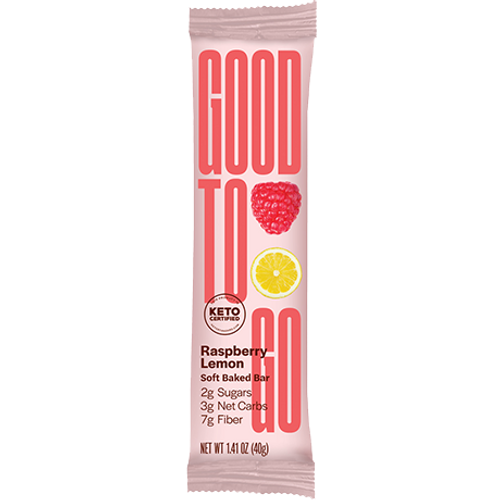 Good To Go: Keto Bar Raspberry Lemon