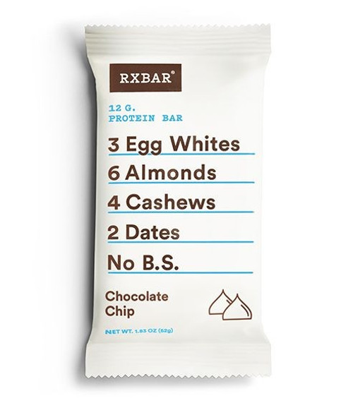 RxBAR Protein Bar : Chocolate Chip (52g)