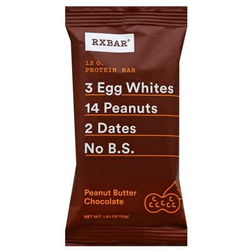RxBAR Protein Bar : Peanut Butter Chocolate (52g)