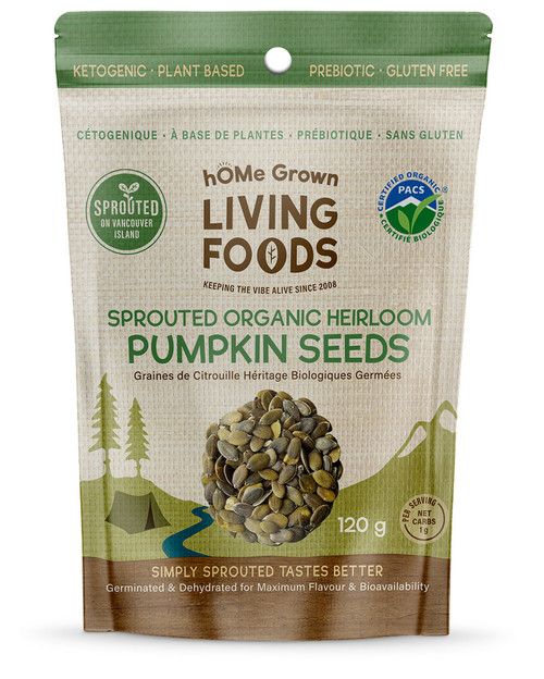 Sprouted Heirloom Pumpkin Seeds