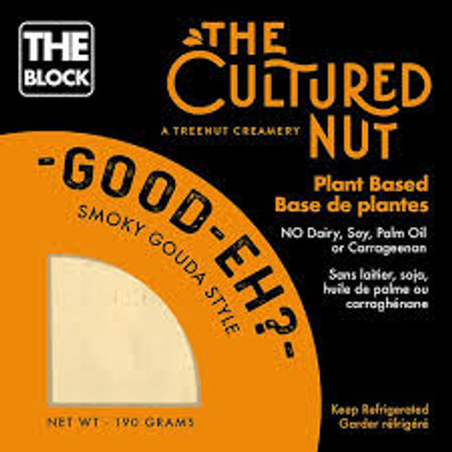 THE CULTURED NUT : Vegan Cheese - Smoky Gouda