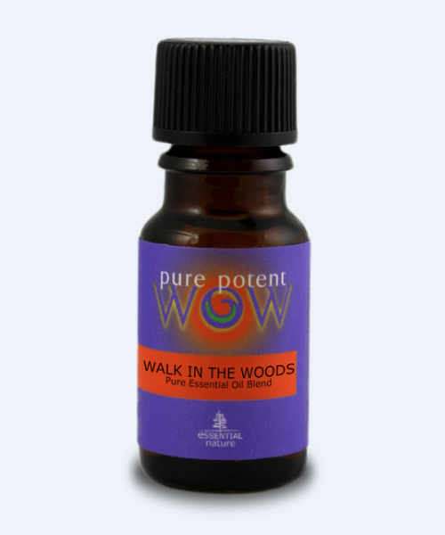 Pure Potent WOW: Essential Oil Blend - Walk in the Woods (Wild, Certified Organic)  (12ml)