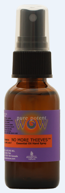 Pure Potent Wow: Essential Oil Hand Spray - No More Thieves (30ml)
