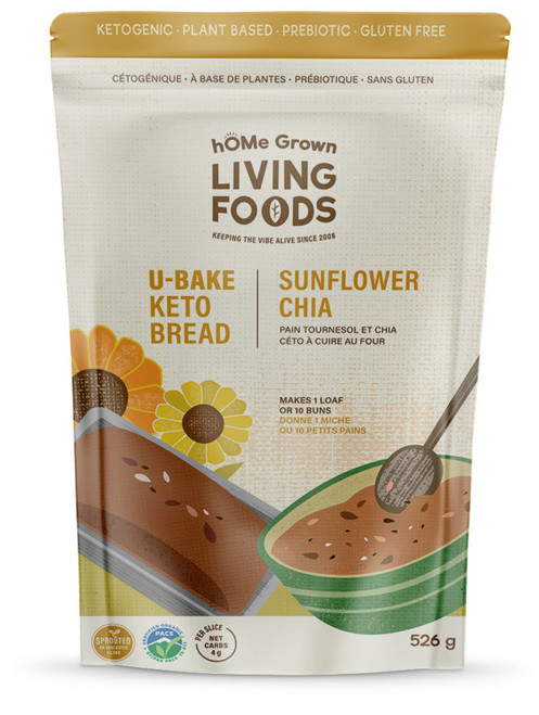 U-Bake Keto Bread - Sunflower Chia